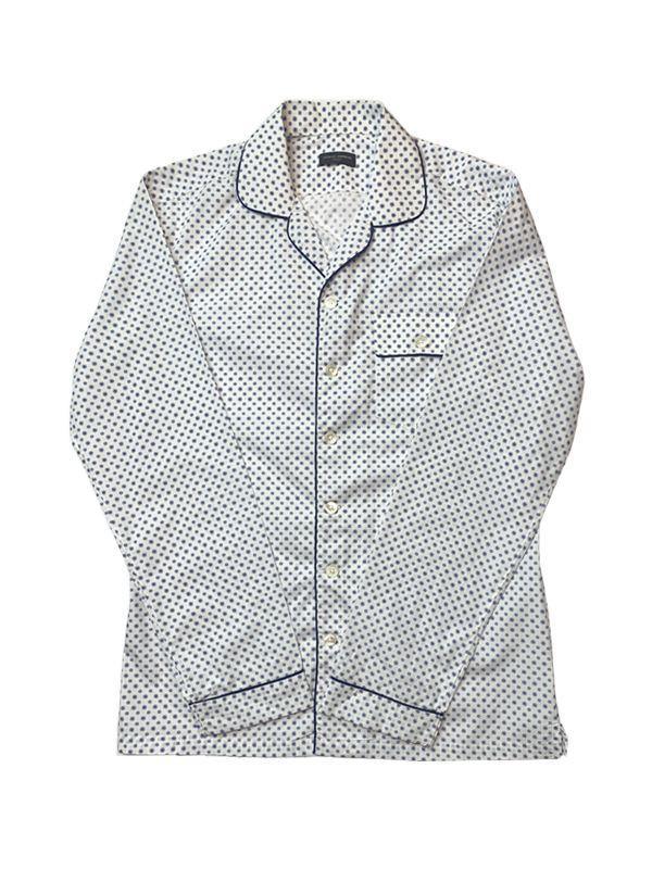 Blue Dot Pajama Shirt