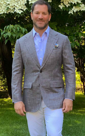 Brown Bespoke Sport Coat
