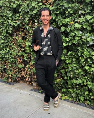 Bespoke Black Solid Linen Suit
