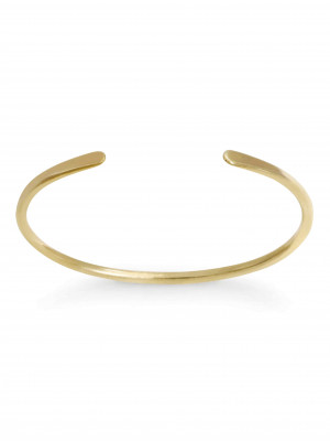Gold Paddle End Bracelet (L)