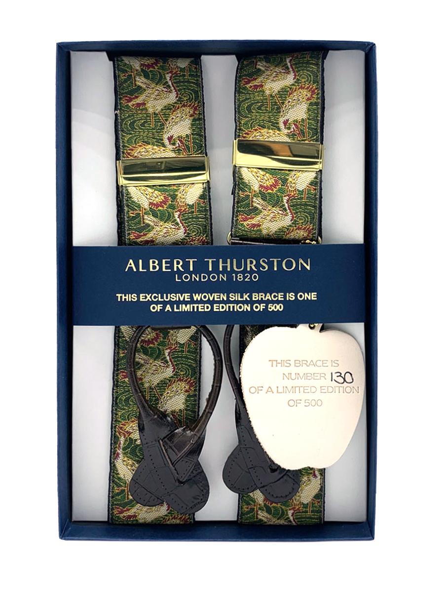Limited Edition Cranes Suspenders (Short)