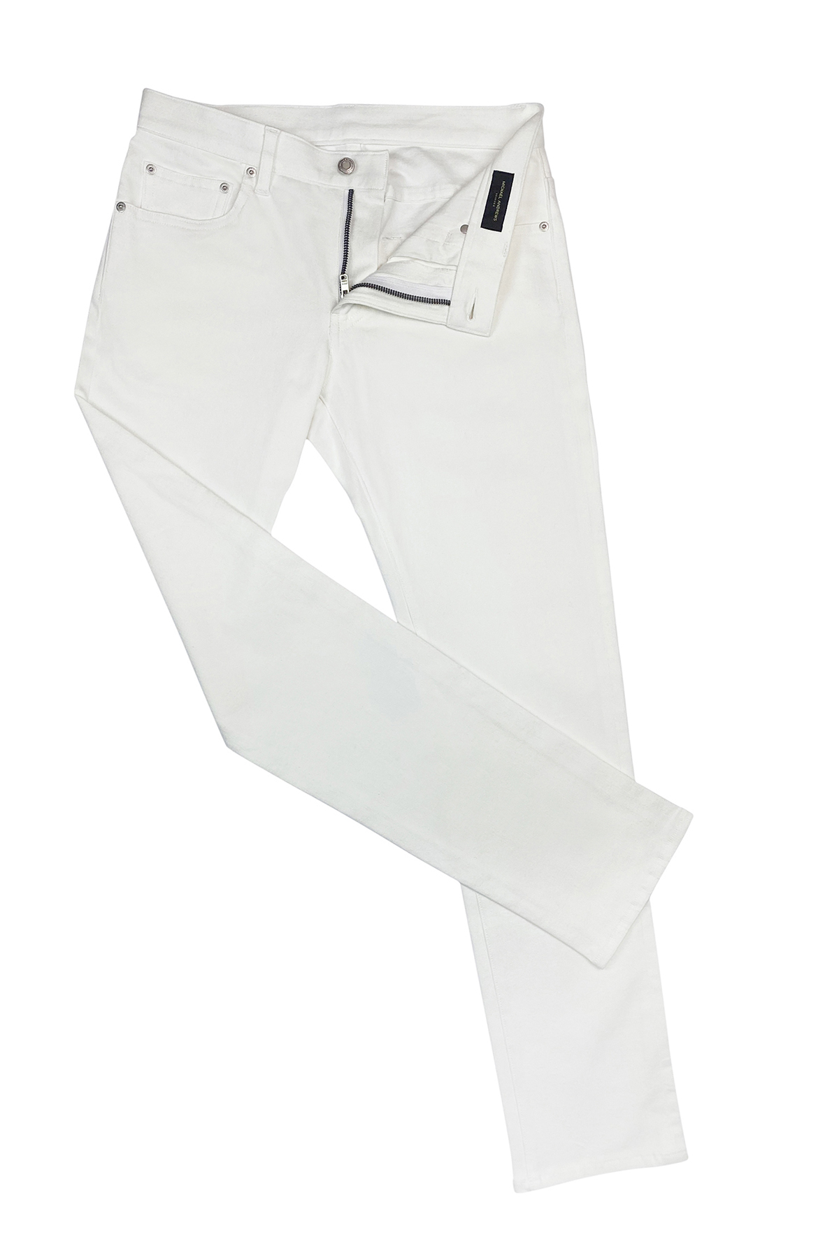 White Stretch Denim Jeans