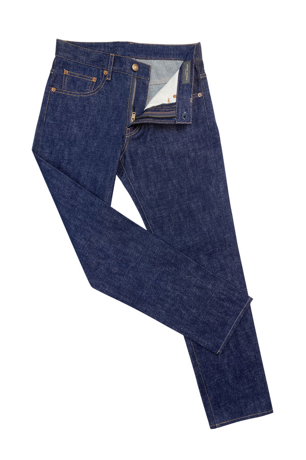 Indigo Stretch Denim Jeans