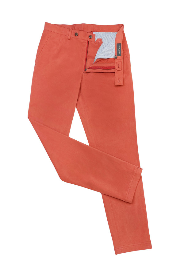 Nantucket Red Casual Cotton Pants