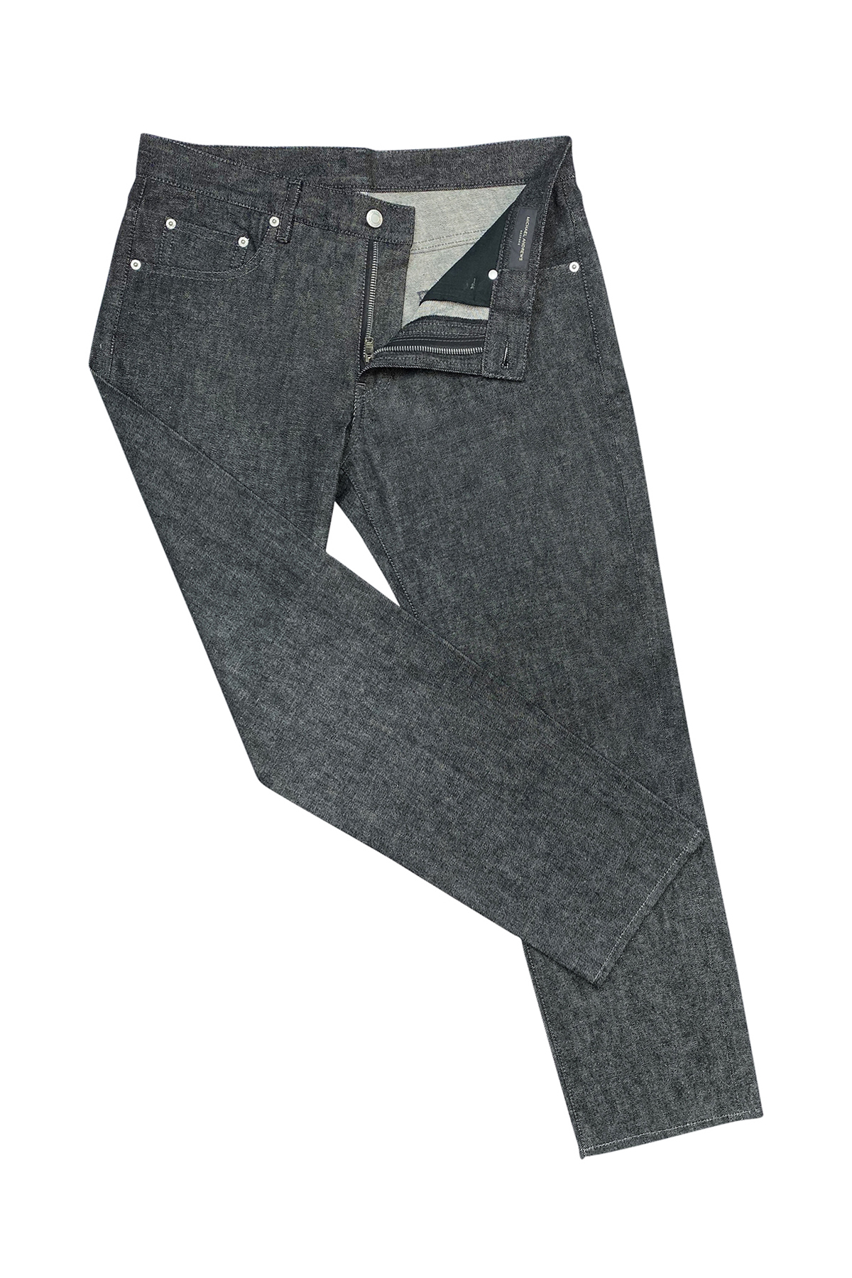 Charcoal Stretch Denim Jeans