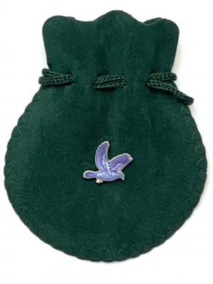 Lilac Dove Lapel Pin