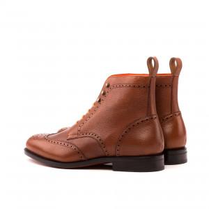 Brown Brogue Boot