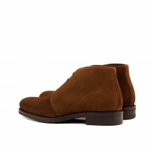Brown Suede Chukka
