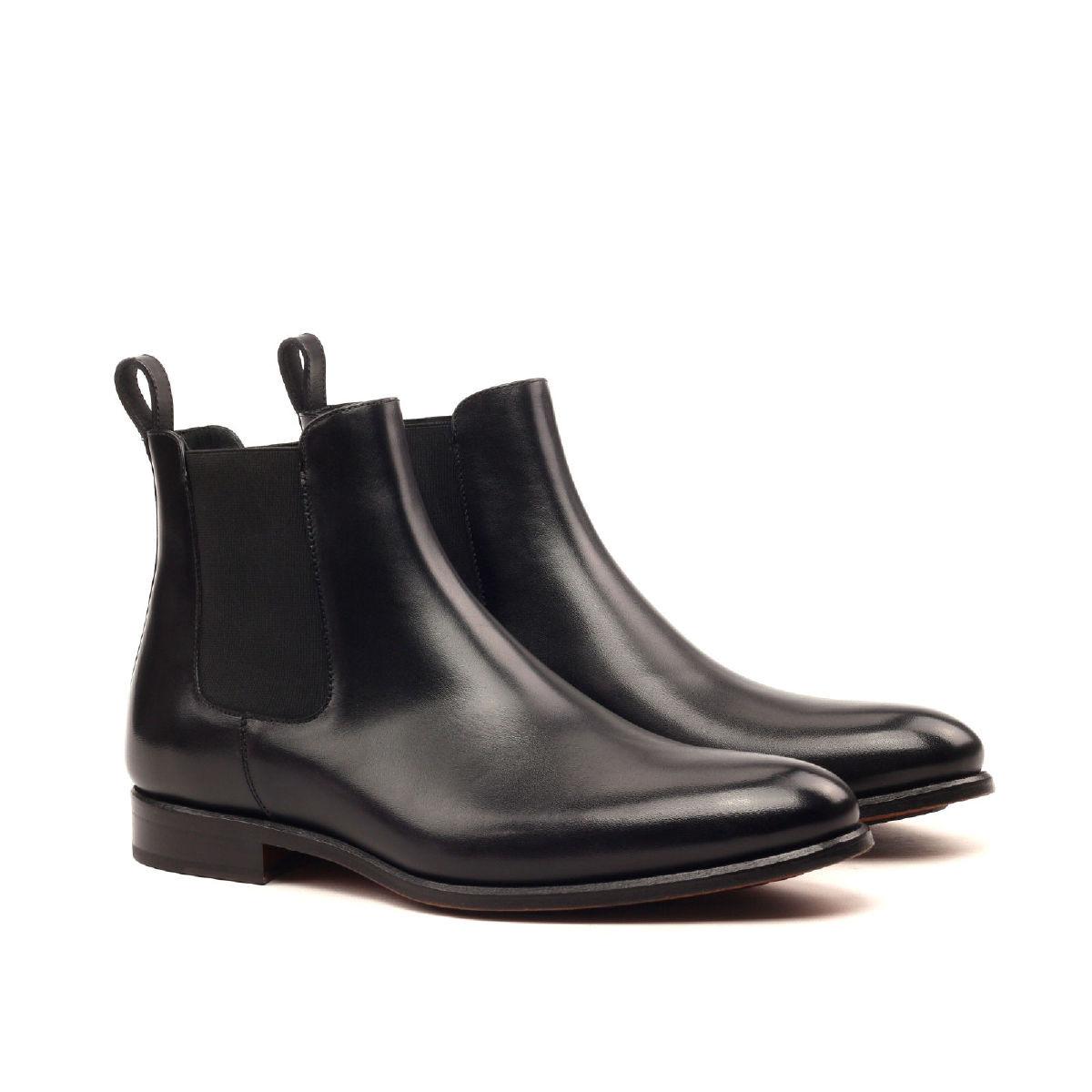Dark Brown Calf Chelsea Boot