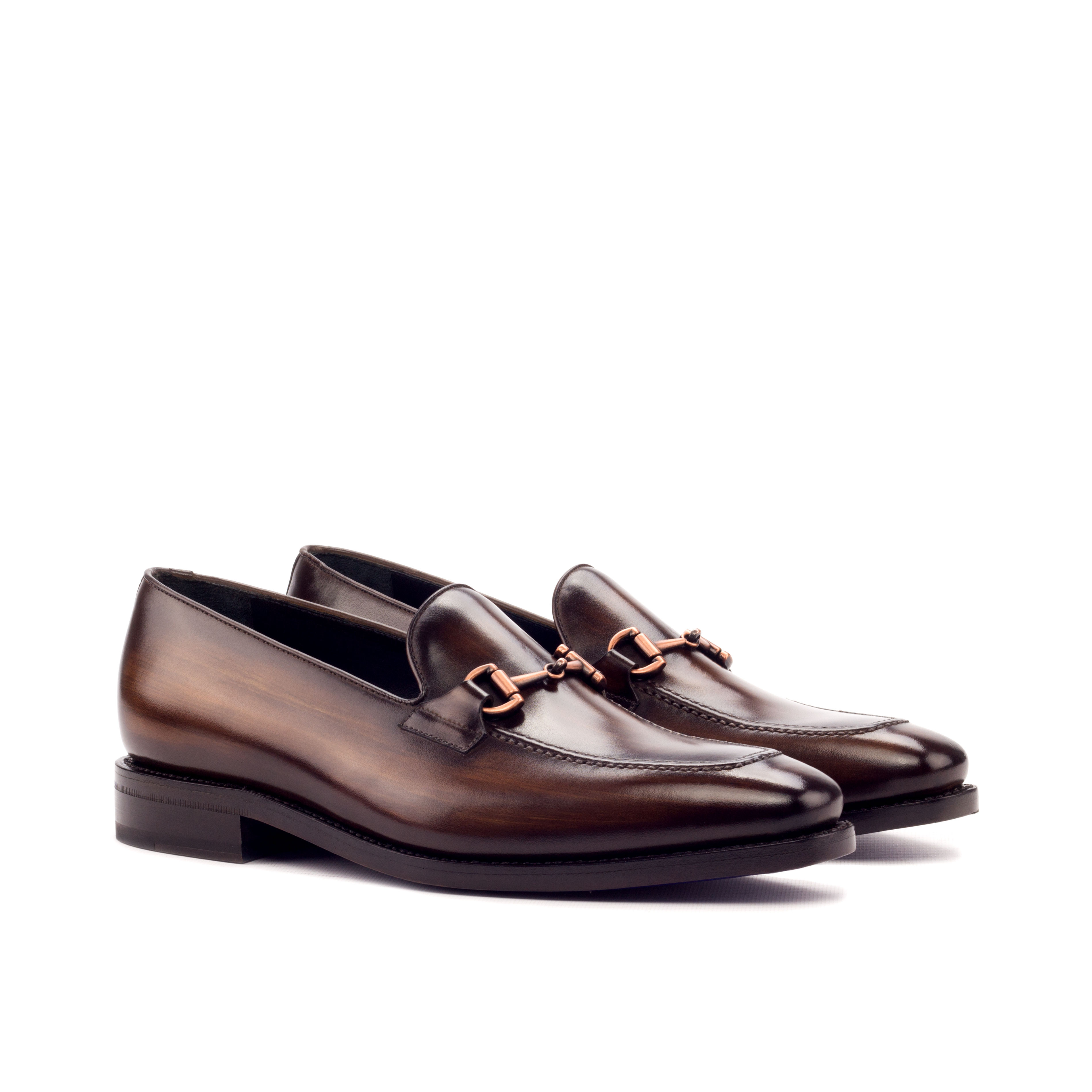 Brown Patina Loafer