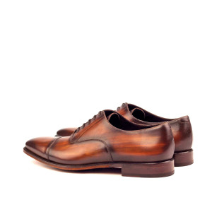Dark Brown Patina Captoe