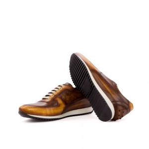 Brown Patina Corsini Sneaker