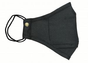 Grey Birdseye Wool Mask