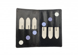 """2 1/2"""" 3-Pack Metal Collar Stays with Magnets"""