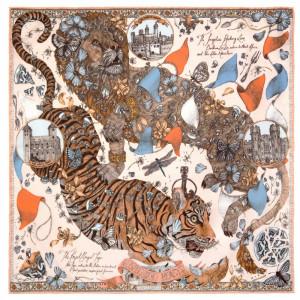 The Lion & Tiger's Tea Party Peony/Quartz