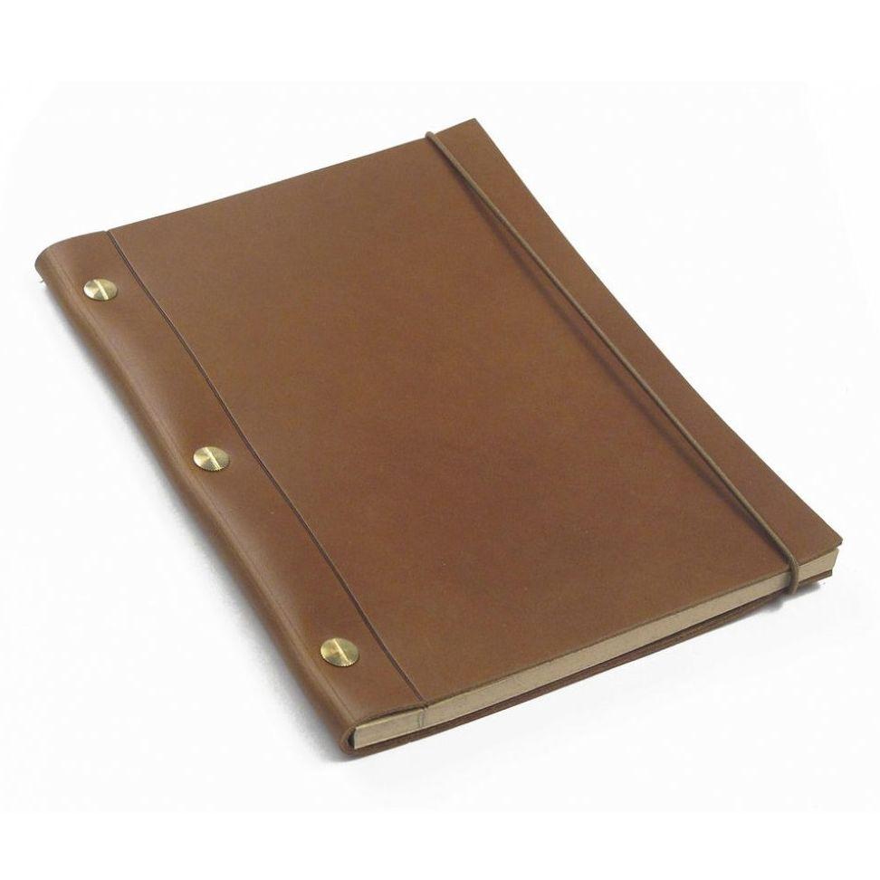 Cuba (Tan) La Compagnie du Kraft Leather Notebook