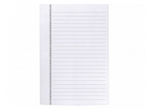La Compagnie du Kraft Notebook Refill - White Lined
