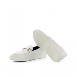 White Calf Belgian Sneaker