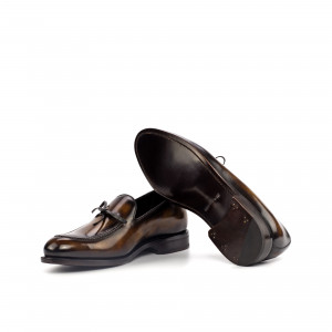 Tobacco Crust Patina Loafer