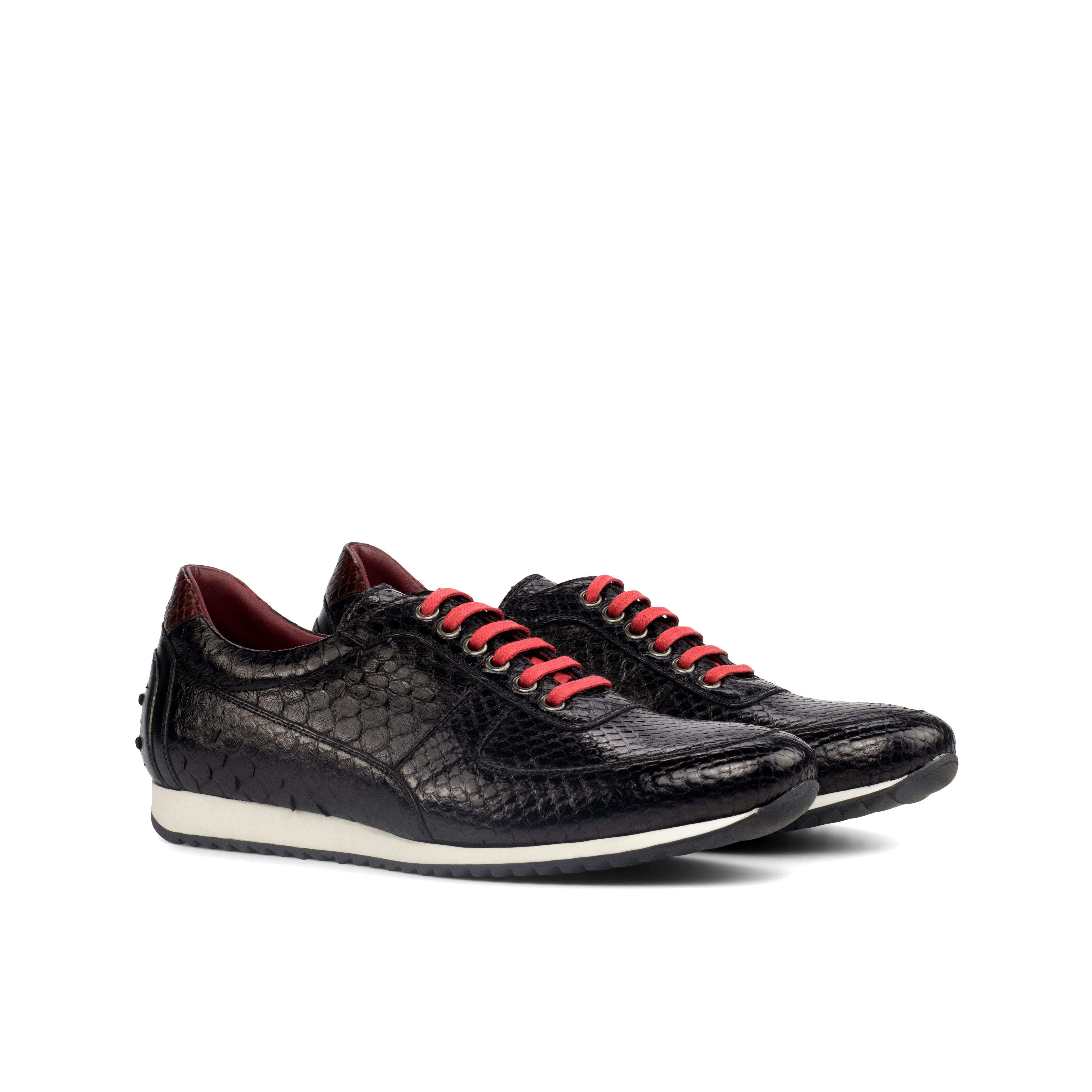 Black Python Corsini Sneaker