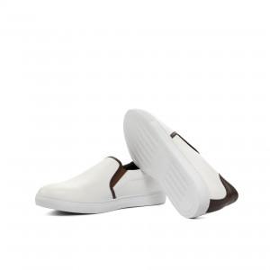 White Box Calf Slip On