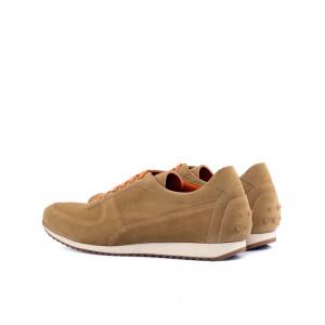 Camel Lux Suede Corsini Sneaker