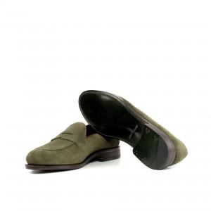 Khaki Suede Flex Loafer