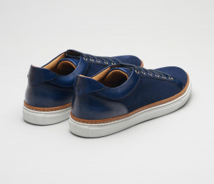 Binetto Navy Men's Dress Sneaker
