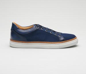 Binetto Navy Men's Dress Sneaker
