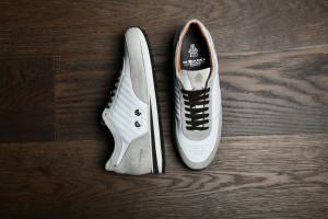 Daytona White Leather Sneakers