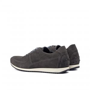 Grey Suede Corsini Sneaker