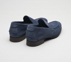 Etna Denim Men's Suede Loafer