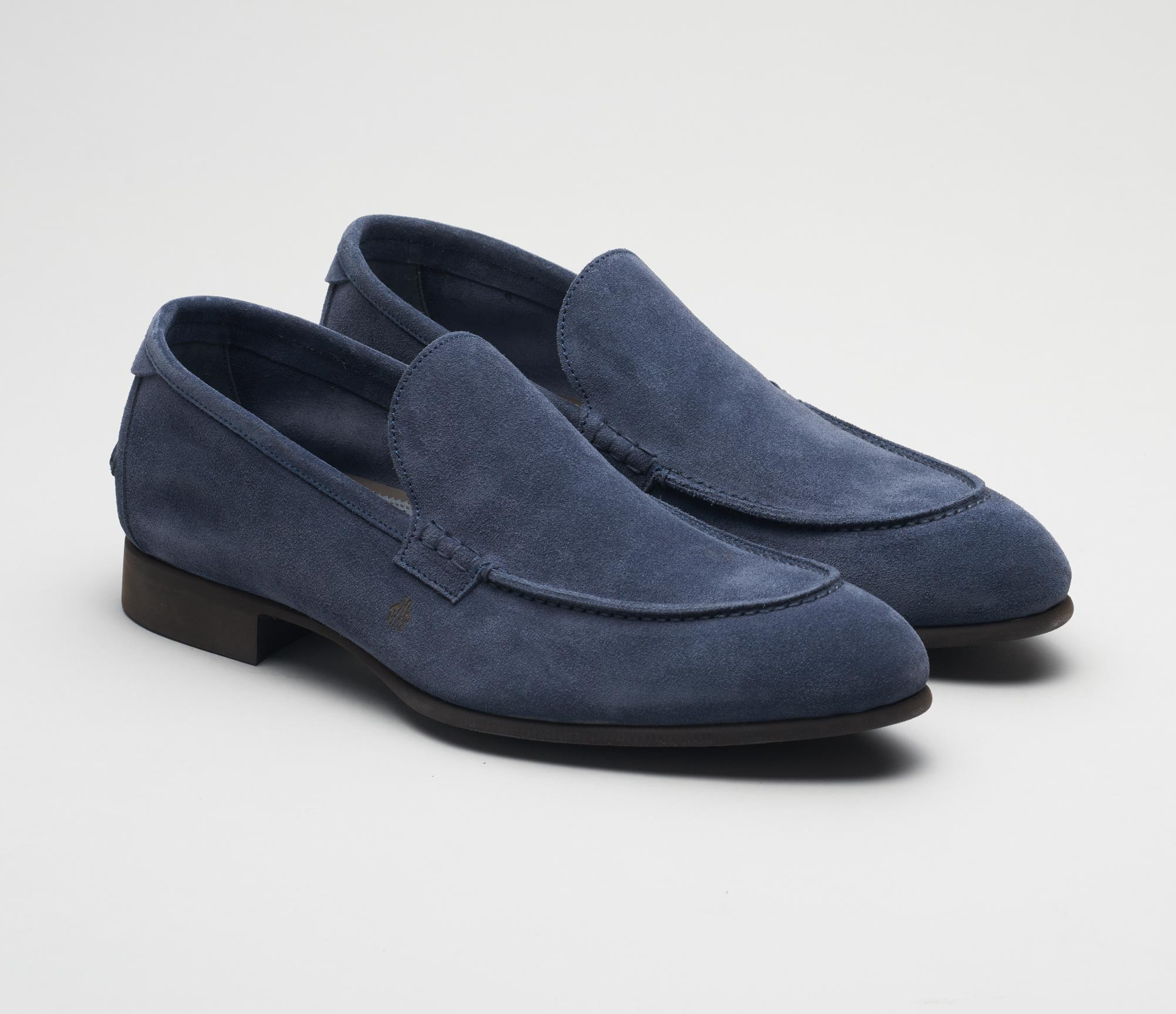 Etna Denim Men's Suede Loafer
