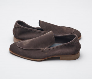 Etna Moka Men's Suede Loafers