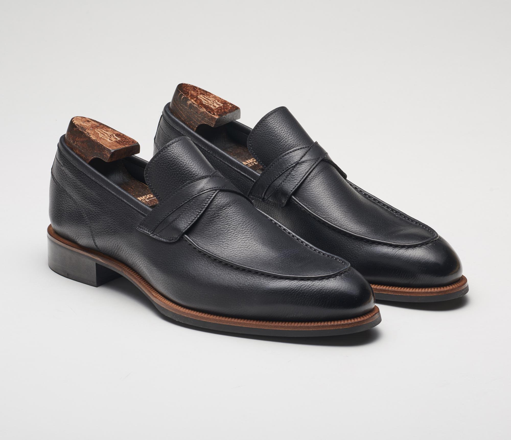 Firenze Nero Men's Loafers Black