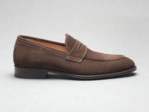 Amato Suede Loafer in Psyke