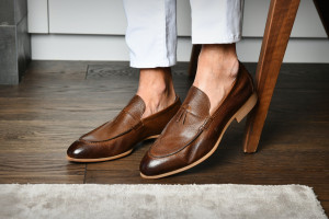 Pompeii Cacao Men's Loafers