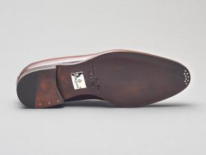 Rimini Leather Deco Loafer in Marron Degrede