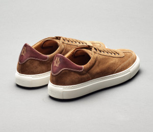 Capri Martora Men's Dress Sneaker in Suede