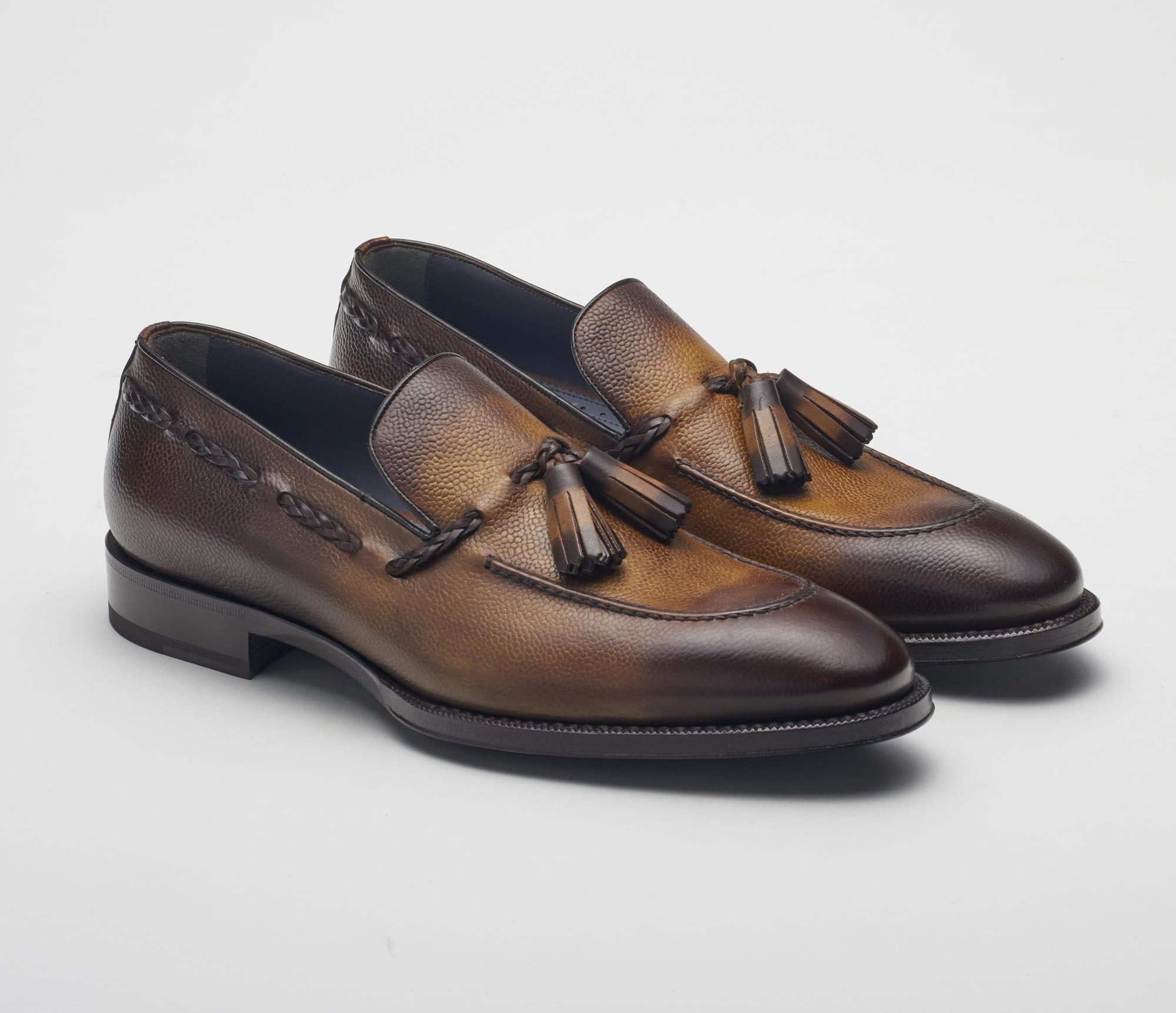 Varese Tassel Loafer in Ciccolato