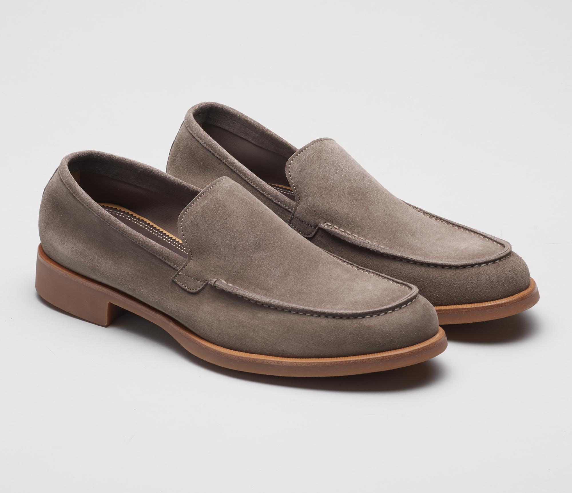 Savona Suede Loafer in Pomice