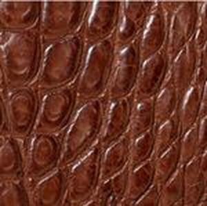 Cigar Matte American Alligator Belt with Brushed Nickel Buckle