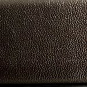 Chocolate Semi-Matte Calf Belt with Brushed Nickel Buckle