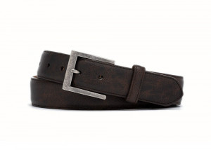 Texas Outlaw Calf Belt with Antique Nickel Buckle