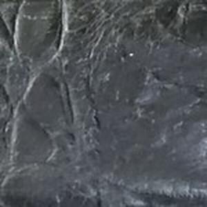 Black Embossed Rustic Alligator Belt with Antiqued Nickel Buckle