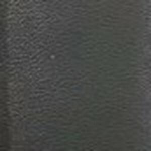 Black Matte Calf Belt with Matte Plaque Buckle