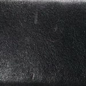 Black Glazed Calf Belt with Nickel Buckle
