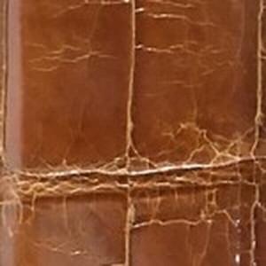 Medium Brown Glazed American Alligator Belt with Nickel Buckle