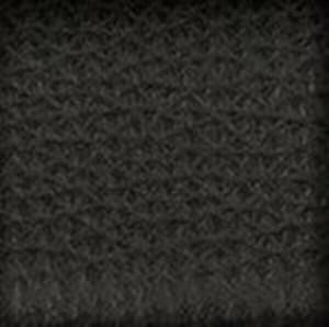 Black Pebbled Calf Belt with Nickel X Buckle