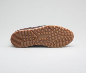 Daytona Reverse Sombrero Leather Sneakers For Men